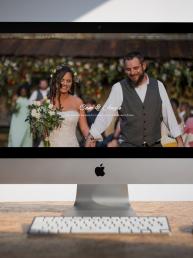 spring wedding website