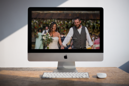 spring wedding website